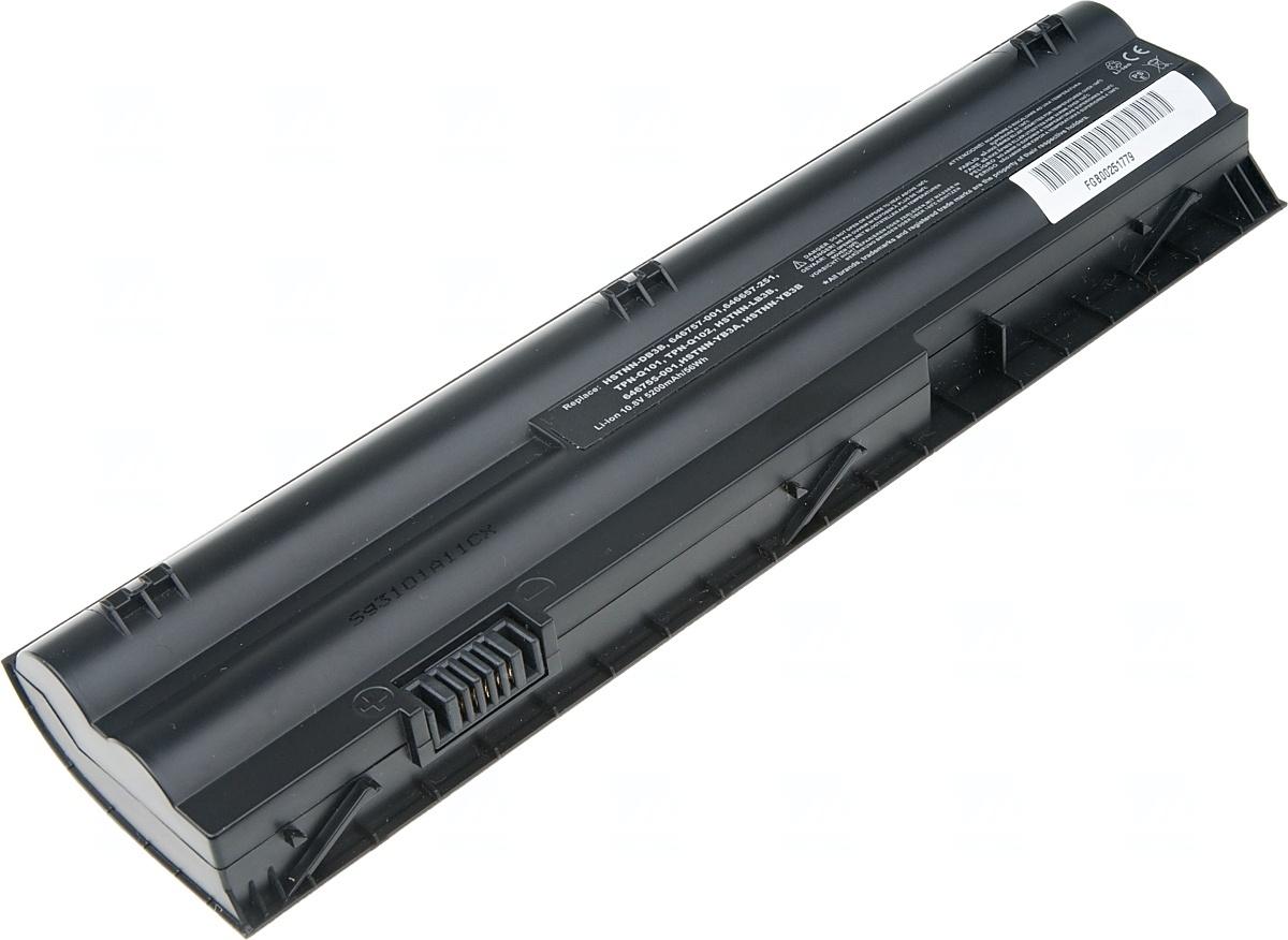 Baterie T6 power HP Mini 110-4100, 210-3000, 210-4000, Pavilion dm1-4000 serie, 6cell, 5200mAh