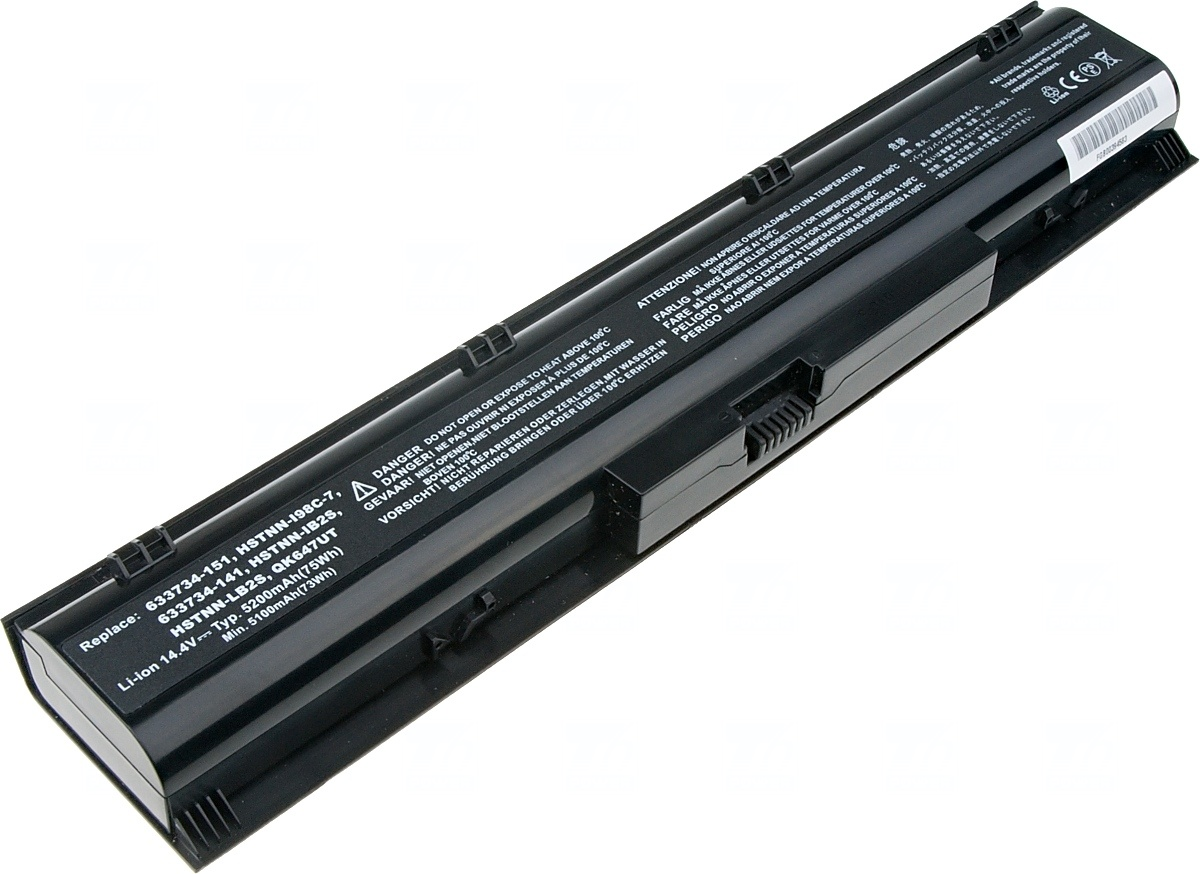 Baterie T6 power HP ProBook 4730s, 4740s, 8cell, 5200mAh