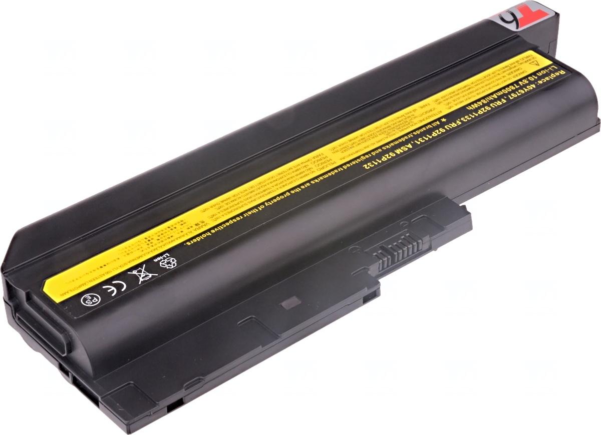 Baterie T6 power IBM ThinkPad T500, T60, T61, R500, R60, R61, Z60m, Z61m, SL500, 9cell, 7800mAh