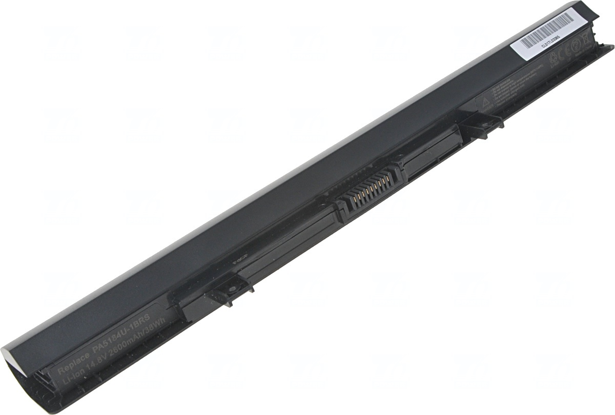 Baterie T6 power Toshiba Satellite C50-B, C55-B, L40-B, L50-B, P50-C, S50-B, 4cell, 2600mAh