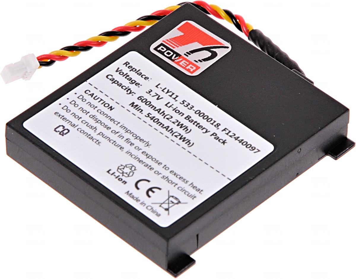 Baterie T6 power Logitech MX Revolution, Gaming Headset G930, Li-ion, 600mAh, 2,2Wh