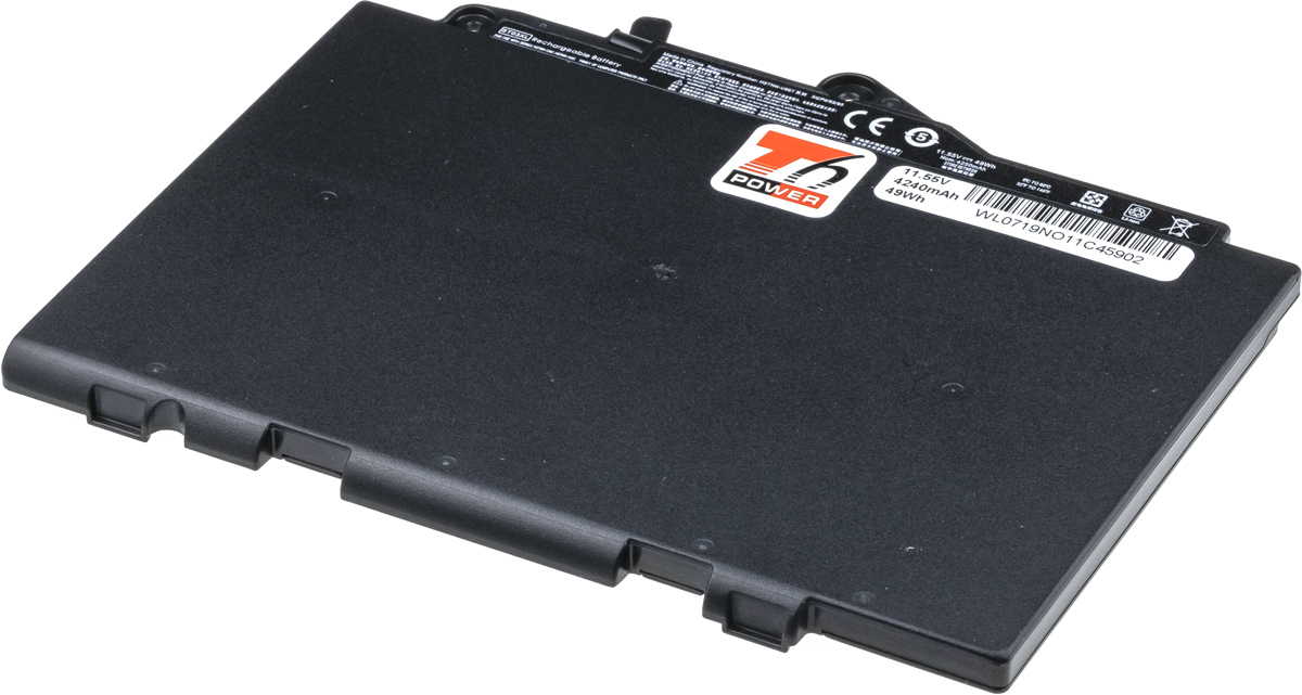 Baterie T6 power HP EliteBook 725 G4, 820 G4, 828 G4, 4240mAh, 49Wh, 3cell, Li-pol