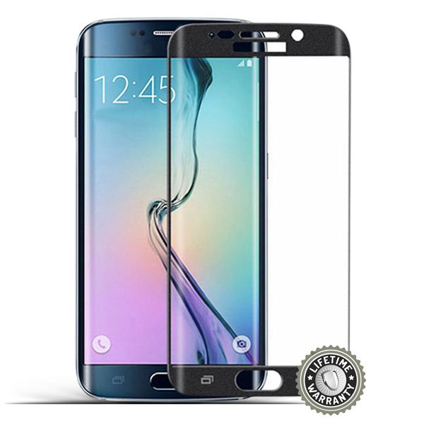 Screenshield™ SAMSUNG G928 Galaxy S6 Edge Plus Tempered Glass protection (black)