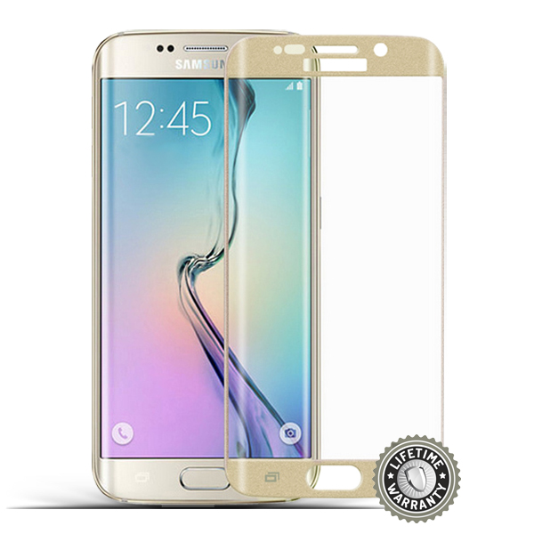 Screenshield™ SAMSUNG G928 Galaxy S6 Edge Plus Tempered Glass protection (Gold)
