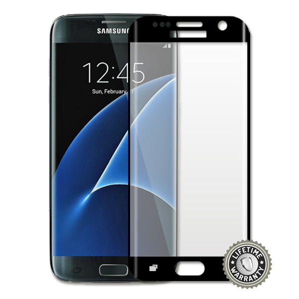 Screenshield™ SAMSUNG G935 Galaxy S7 edge Temperované sklo (black)