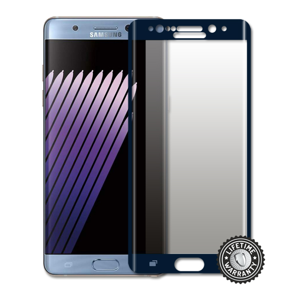 Screenshield™ Samsung Galaxy Note 7 Tempered Glass protection display (full COVER BLUE)