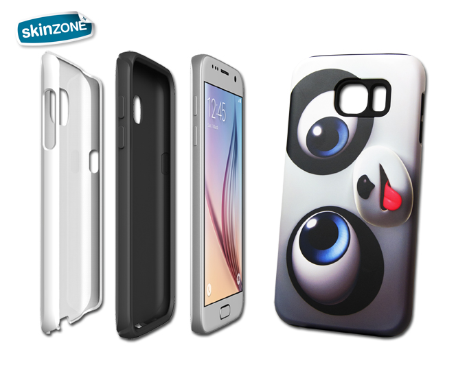 Skinzone Tough Case CRA0015CAT pro Galaxy S6