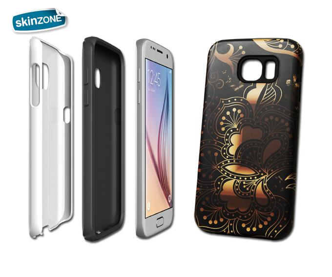 Skinzone Tough Case CRE0028CAT pro Galaxy S6