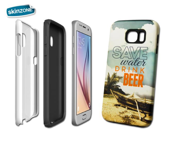 Skinzone Tough Case STA0018CAT pro Galaxy S6