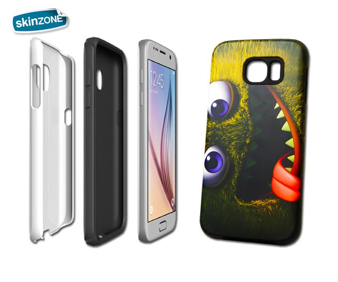 Skinzone Tough Case CRA0005CAT pro Galaxy S6 Edge