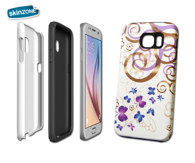 Skinzone Tough Case CRE0004CAT pro Galaxy S6 Edge