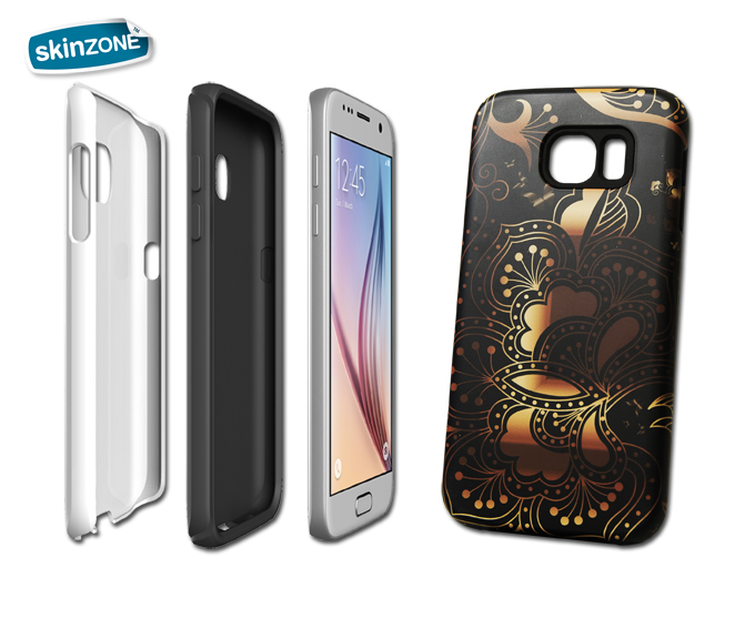 Skinzone Tough Case CRE0028CAT pro Galaxy S6 Edge