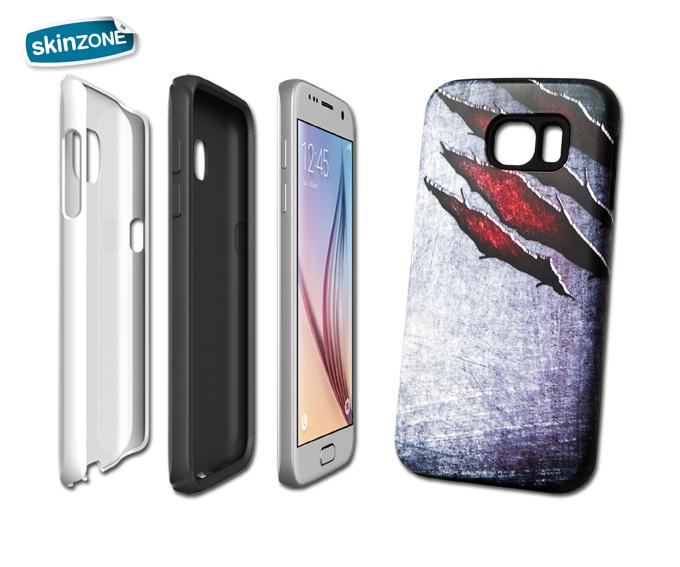 Skinzone Tough Case MET0027CAT pro Galaxy S6 Edge