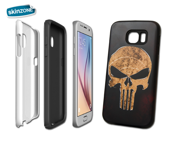 Skinzone Tough Case SKU0027CAT pro Galaxy S6 Edge