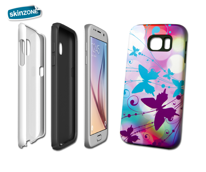 Skinzone Tough Case FLO0017CAT pro Galaxy S7
