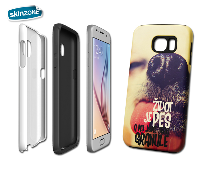 Skinzone Tough Case STA0006CAT pro Galaxy S7