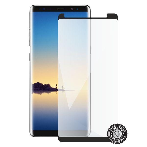Screenshield SAMSUNG N960 Galaxy Note 9 Tempered Glass protection (black - CASE FRIENDLY) - SAM-TG3DBCFN960-D
