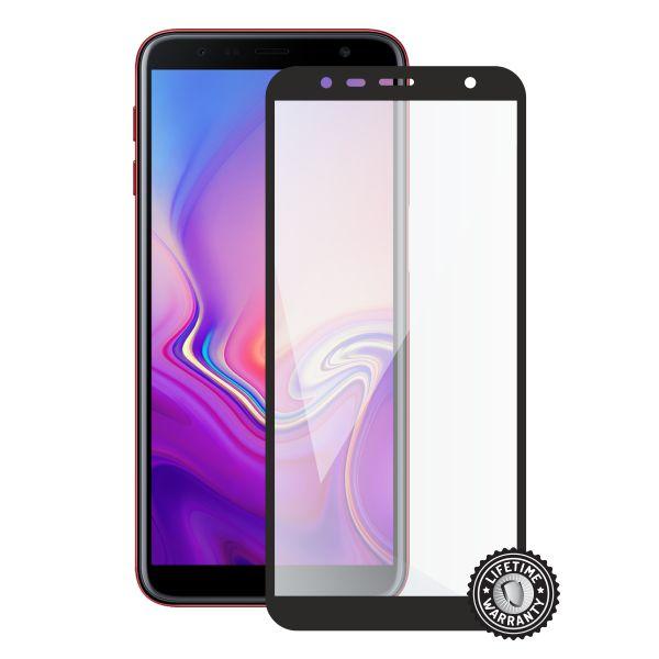 Screenshield SAMSUNG J610 Galaxy J6+ (2018) Tempered Glass protection (full COVER black) - SAM-TG25DBJ610-D