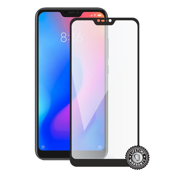 Screenshield XIAOMI POCOPHONE F1 Tempered Glass protection (full COVER black) - XIA-TG25DBPOCPHF1-D