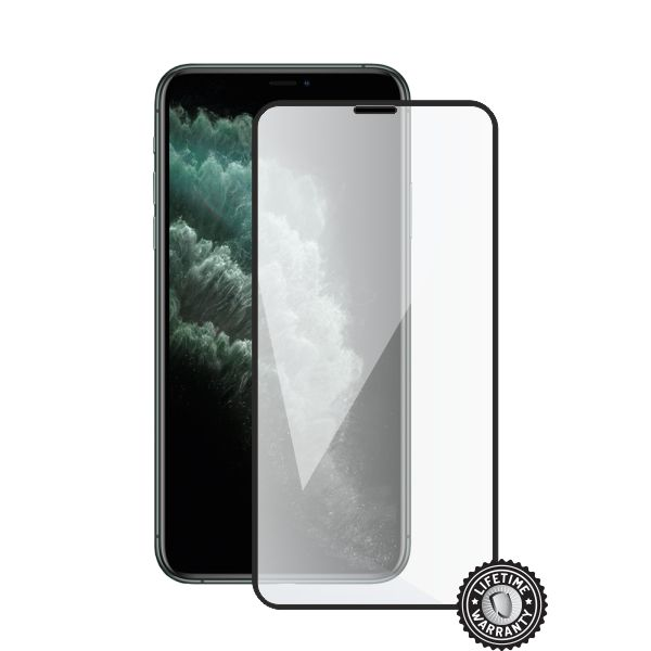Screenshield APPLE iPhone 11 Pro Tempered Glass protection (full COVER black) - APP-TG3DBIPH11PR-D