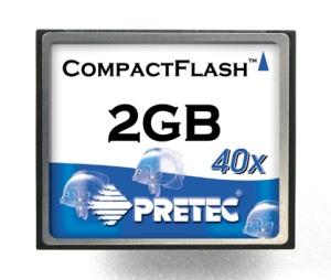 Pretec 2.0GB karta CompactFlash HighSpeed