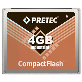 Industrial Pretec CF Card 4GB - Lynx Solution