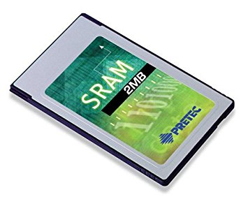 Industry Pretec PCMCIA SRAM Card 2MB MB86187 -20°C - +85°C (with 8KB A/M) 8bit