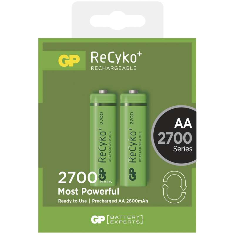 Nabíjecí baterie GP AA 2700 NiMH 2ks