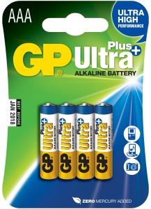 GP Ultra Plus 4x AAA - 1017114000
