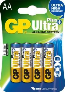 Alkalická baterie GP Ultra Plus 4x AA