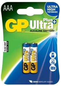 GP Ultra Plus 2x AAA - 1017112000