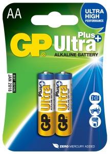 Alkalická baterie GP Ultra Plus 2x AA