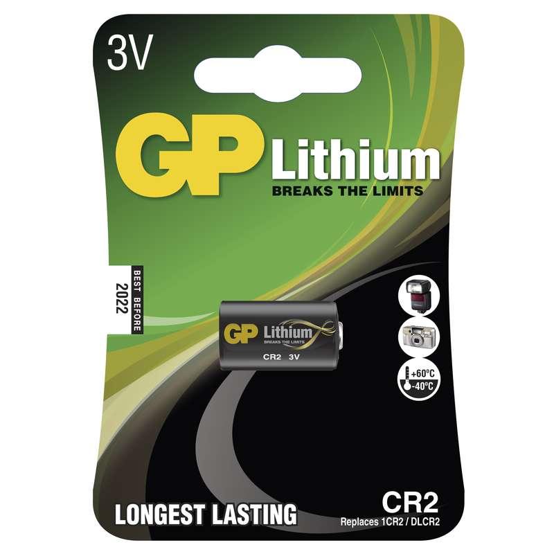 Lithiová baterie GP CR2 - 1ks - 1022000611