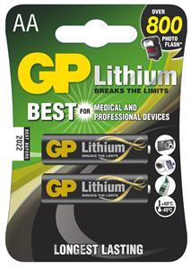 Lithiová Baterie GP AA 2ks