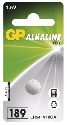 Alkalická knoflíková baterie GP LR54 (189)