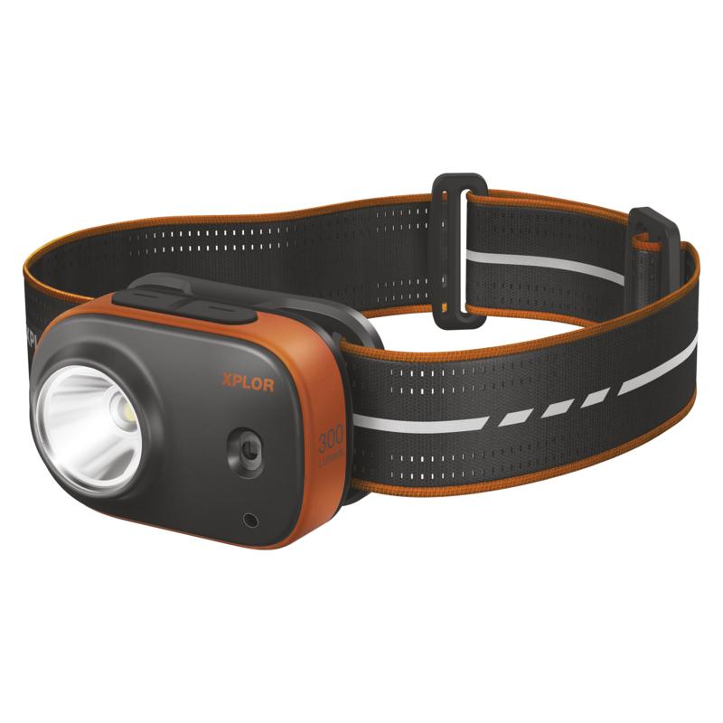 LED nabíjecí čelovka GP Xplor PHR16, 300 lm - 1451085660
