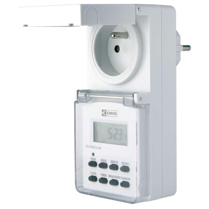 Venkovní digitální spínací zásuvka 3680W (P5507) - 1907110030