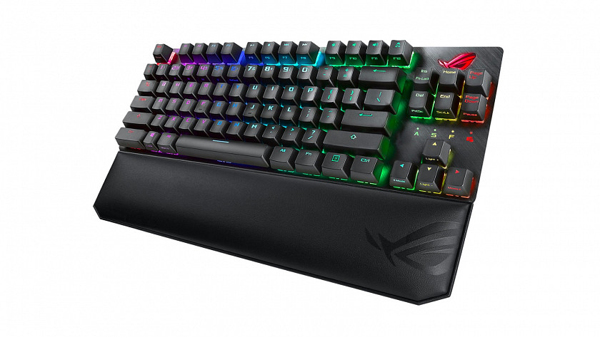 ASUS ROG STRIX SCOPE TKL DELUXE (US layout,Mechanical,Red)