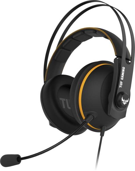 ASUS TUF GAMING H7, Yellow, gaming headset
