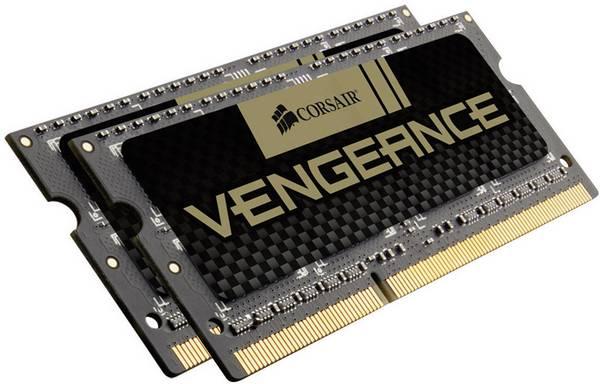 CORSAIR Vengeance 16GB, DDR3, SODIMM, 1600Mhz, 2x8GB, CL10 - CMSX16GX3M2A1600C10