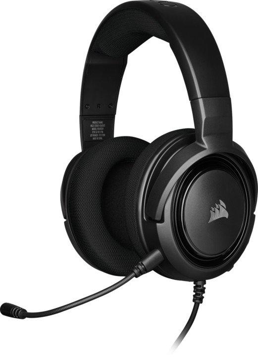 CORSAIR herní headset HS35 Carbon