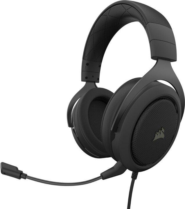 CORSAIR herní headset HS50 PRO Stereo Carbon