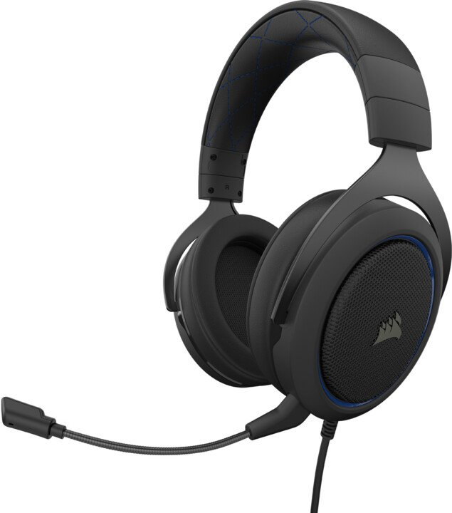 CORSAIR herní headset HS50 PRO Stereo Blue