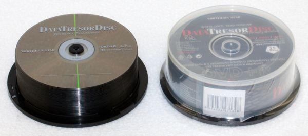 Média DVD+R DTD 160let životnost 4,7GB 4x, 25ks cb
