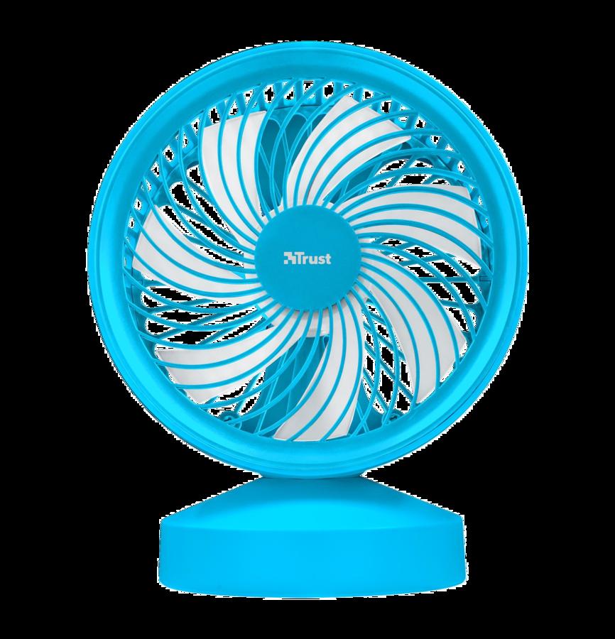 TRUST Ventu USB Cooling Fan - blue