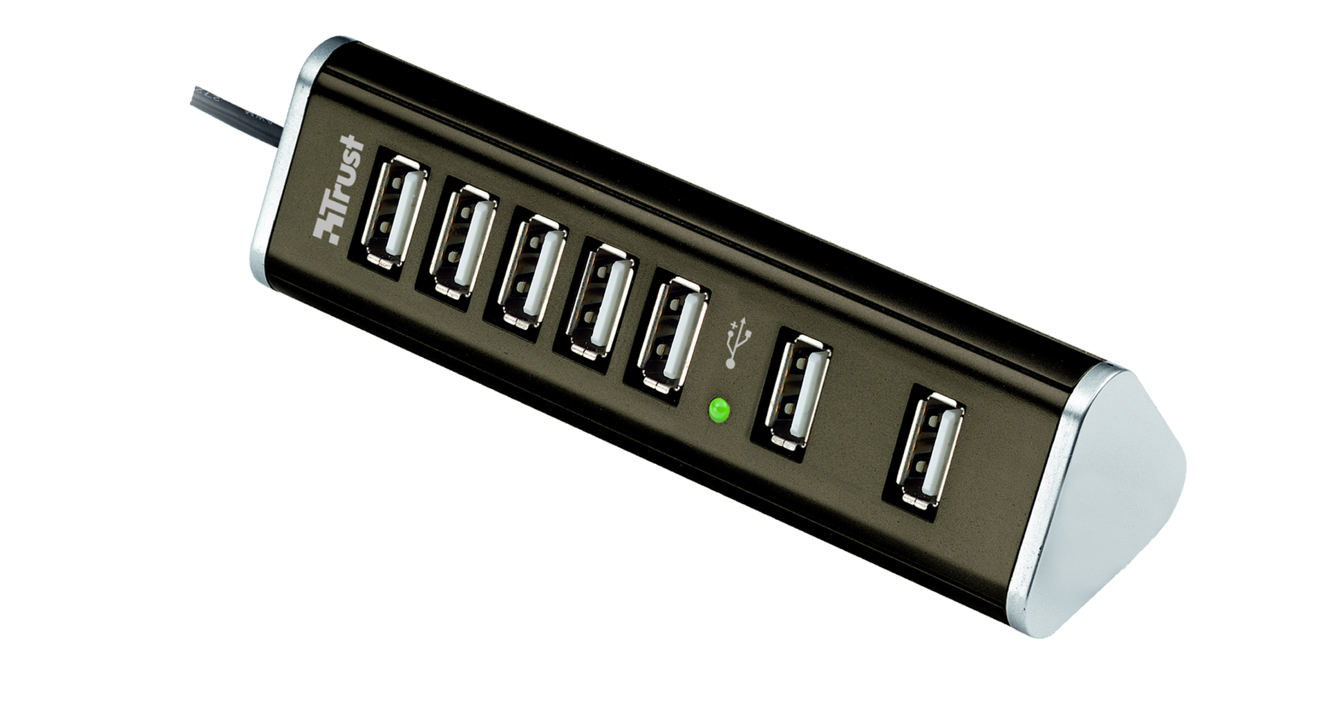 Rozbočovač TRUST 7 Port USB2 Powered HUB HU-5870V
