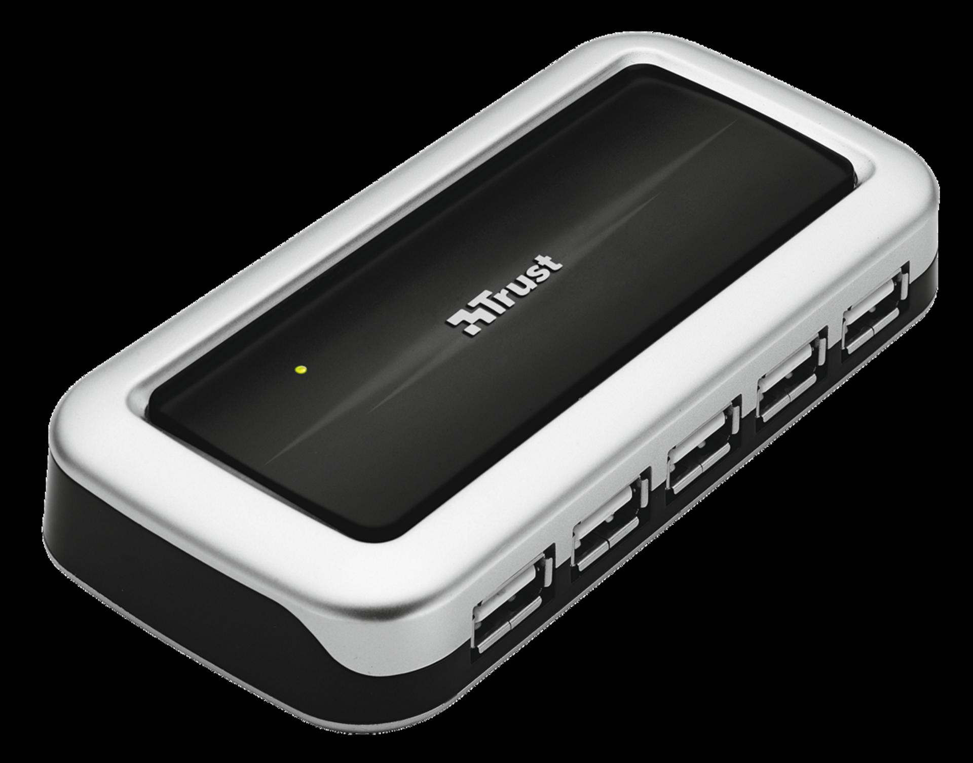 Rozbočovač TRUST 10 Port USB 2.0 Desktop Hub