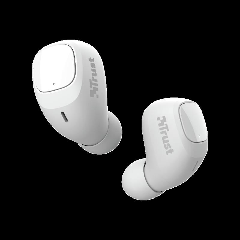 TRUST NIKA COMPACT BLUETH EARPHONES WHITE - 23904
