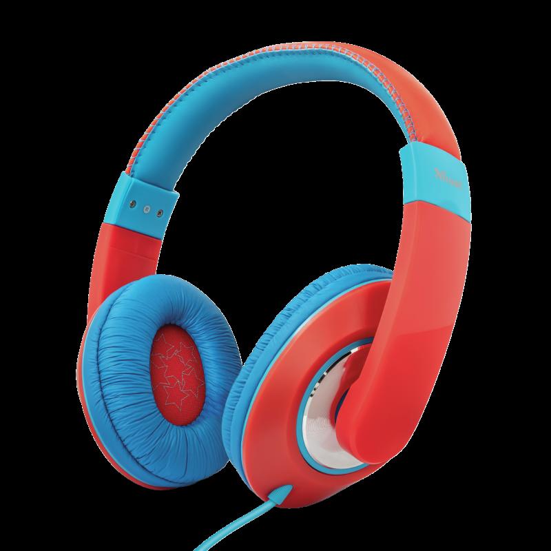 TRUST Sonin Kids Headphones - red - 23585