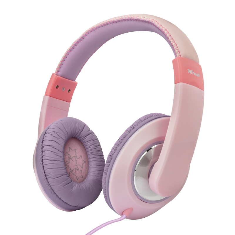 TRUST Sonin Kids Headphones - pink - 23609